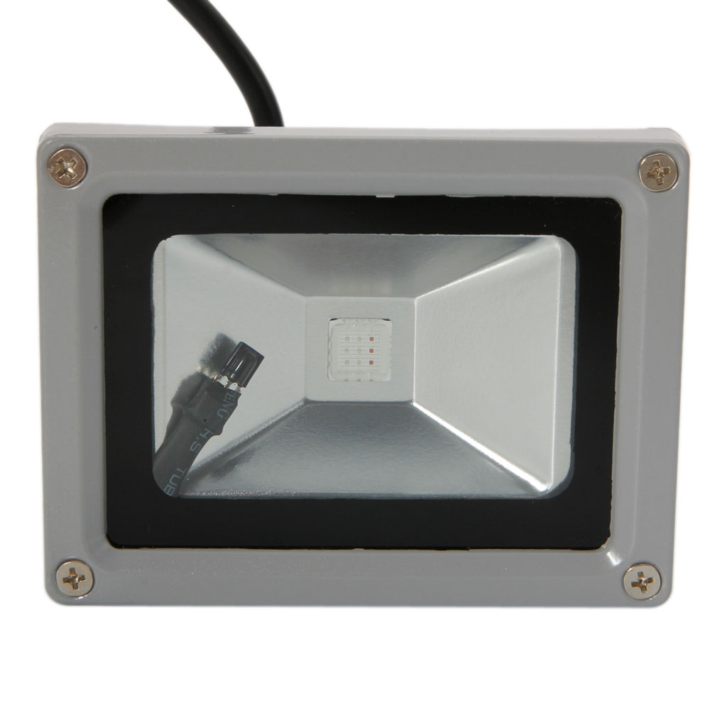 Marswell 10W RGB LED Flood Light Outdoor Graden Landscape