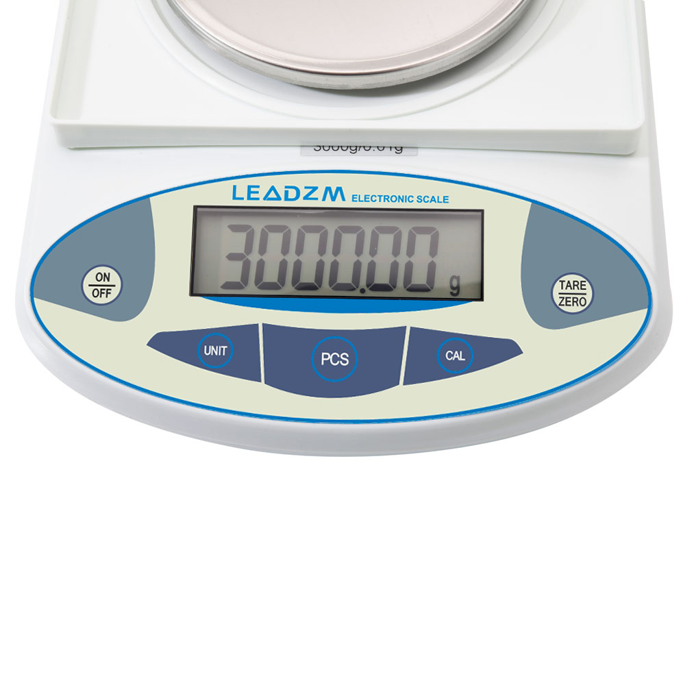 3a05b9bba7c9 Details about 3000g x 0.01g Lab Analytical Balance Digital Precision  Electronic Scale 6.6 LB