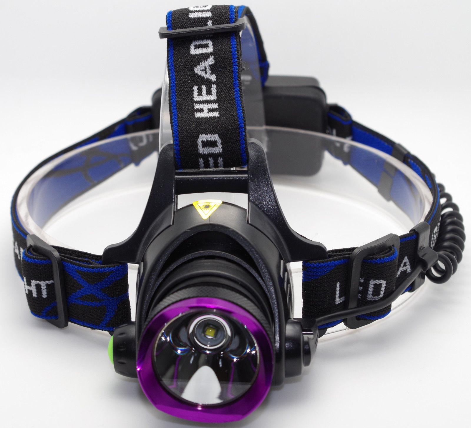 Rechargeable 5000lm Led 3modes Head Light Headlamp 2x 18650