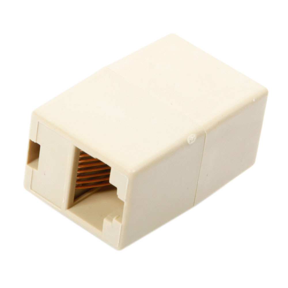Lot 5x Rj45 Cat5 Network Cable Connector Adapter Extender Plug Wiring Connectors Coupler Joiner Us